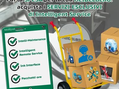 Fai la spesa per la tua Heidelberg: acquista i servizi esclusivi di Intelligent Service