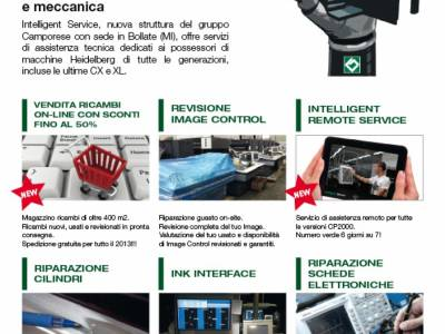 Pagina Intelligent service Poligrafico high level service